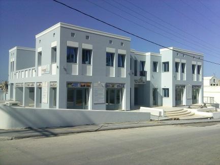 Ολοκληρωμένο έργο, Σαντορίνη - Κτίριο γραφείων