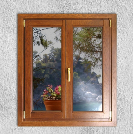 Ξύλινο παράθυρο, από Δρυ