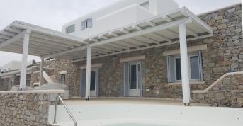 Ολοκληρωμένο έργο, Μύκονος - Άγιος Λάζαρος - Ιδιωτική κατοικία